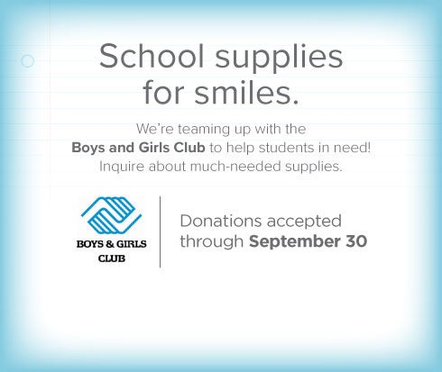 Prominent Point Dental Group and Orthodontics - Boys & Girls Club Supply Drive